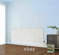 1000W Panel Heater Radiator Wall Mounted Oil Filled Digital Slim Electric Timer