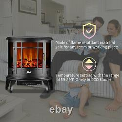 1000/1500W Electric Heater with Adjustable Thermostat and Overheat Safety
