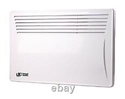 1.5KW Wall Mounted/Free Standing Convector Panel Heater Digital 24H 7 Day Timer