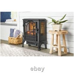 25 3D Electric Fireplace Stove Heater, with Life-like Flame & Sparks, FREE SHIP
