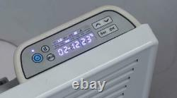 2KW Wall Mounted / Free Standing Convector Panel Heater Digital 24H 7 Day Timer