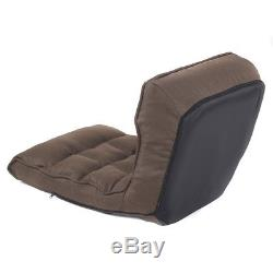 4-Position Foldable Adjustable Floor Gaming Chair Cushioned Lazy Sofa Ergonomic