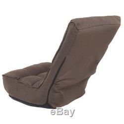 Adjustable 4-Position Folding Floor Gaming Chair Lounger Lazy Sofa Futniture New