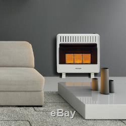 Avenger Reconditioned Dual Fuel Ventless Infrared Gas Space Heater 30,000 BTU