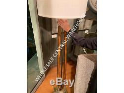 Boydton Farmhouse Mission Look XXL 66 Stained Wood & Metal Floor Lamp Uttermost