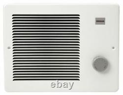 Broan 170 Recessed Electric Wall-Mount Heater, Recessed Or Surface, White