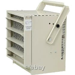 Commercial 5000W Electric Garage Heater, 500 Sq Ft Stainless Steel Utility Heat