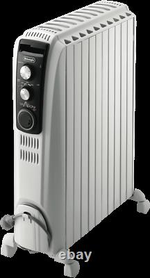 DeLonghi 2400W Dragon 4 Oil Column Heater with Timer TRD42400MT dents