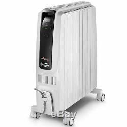 DeLonghi Dragon 4S 2KW Oil Filled Portable Radiator TRDS40820E ECO 10YR Warranty