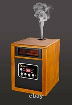Dr. Infrared Heater Portable Space Heater with Humidifier 1500-Watt