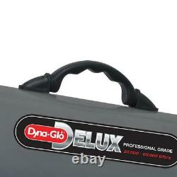 Dyna-Glo Forced Air Heater Propane Delux Adjustable Heat Angle Portable Gray