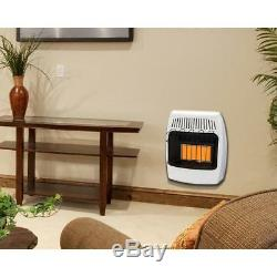 Dyna-Glo Infrared Room/Space Heater Wall / Floor Mounted Natural Gas Vent Free