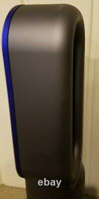 Dyson AM09 Hot + Cool Fan Heater Iron Blue Used / Good Condition