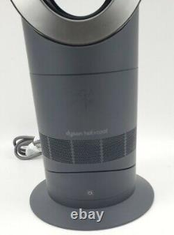 Dyson AM09 Hot + Cool Jet Focus Fan Heater Full Black NO Remote Tested Working
