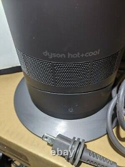 Dyson AM09 Hot + Cool Jet Focus Fan Heater Iron/Red Used WithRemote FREE SHIPPING