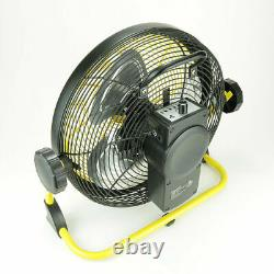 Fan Portable Geek Air Outdoor Rechargeable Variable Speed Floor Home, Cordless