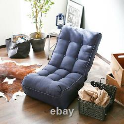 Floor Couch Lazy Sofa Bed Adjustable Reclining Position Lounge Chair Single sofa