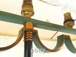 Floor Lamp Vintage French 1940 Metal & Brass 40S 40'S Years 40