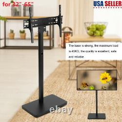 Floor TV Stand with Swivel Mount and Height Adjustable for 32- 65'' (3 Position)