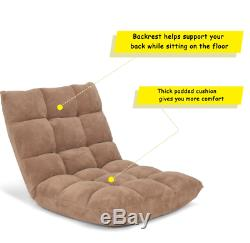 Gaming Floor Chairs For Adults Teens With Back Support Big Pillows Cushions Seat