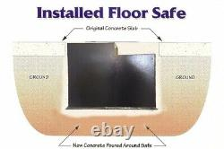 Hollon B6000 Floor Safe With Dial Lock Ul B Rated Authorized Dealer New