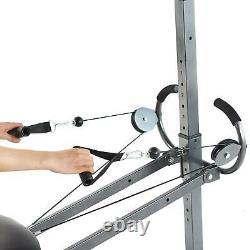 Home Workout Body Training Fitness Equipment With Resistance Bands & Floor Mats