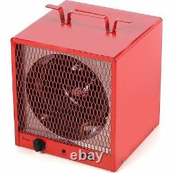 Industrial 5600W Electric Utility Heater, Fan Forced 600 Sq Ft Commercial Garage