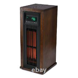 Lifesmart HT1216 23 High 1500W Electric Large Room Infrared Tower Space Heater