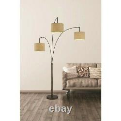Lumiere 80 in. Arched Floor Lamp, Antique Bronze