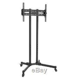 Mobile TV Cart Trolley Floor Stand Mount Home Display For 3770 LED LCD Plasma