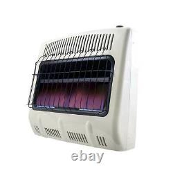 Mr Heater 20000 BTU Vent Free Blue Flame Propane Gas Wall or Floor Indoor Heater
