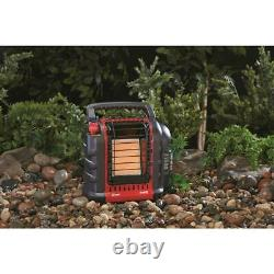 Mr. Heater MH9BX Portable Buddy Heater (Massachusetts And Canada Version) + Bag