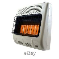 Mr Heater Radiant Propane Heater 30000 BTU Thermostat Unvented Home Heating