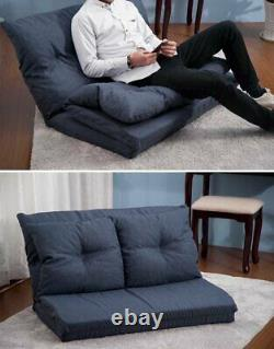 Multi-Functional Foldable Japanese Floor Sofa Bed Adjustable Lazy Recliner Couch