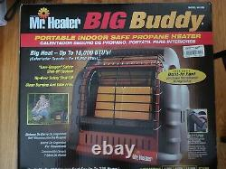 NEW Mr. Heater Big Buddy Hunting Camping Portable Propane Gas Heater Red MH18B
