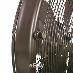 NewAir Outdoor Misting Fan and Pedestal Fan Combination, 600 sq. Ft
