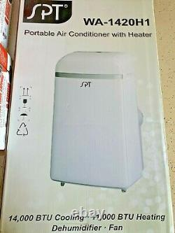 SPT 700 Sq. Ft. Portable AC with Heater SUNPENTOWN BRAND NEW