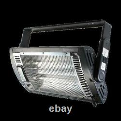Space Heater 1500w Electric Portable Garage Personal Indoor Ceiling Mount Black