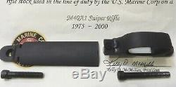 USMC M40A1 Scout Sniper 100% STEEL Bottom Metal Winchester Floor Plate Trigger