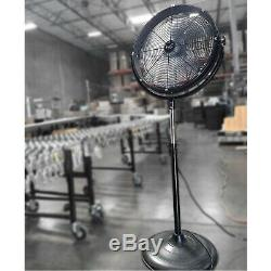 Vie Air 20 Industrial Heavy Duty Powerful and Quiet Metal High Velocity 360